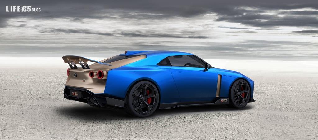 Italdesign produrrà la GT-R50 da 720 CV di Nissan