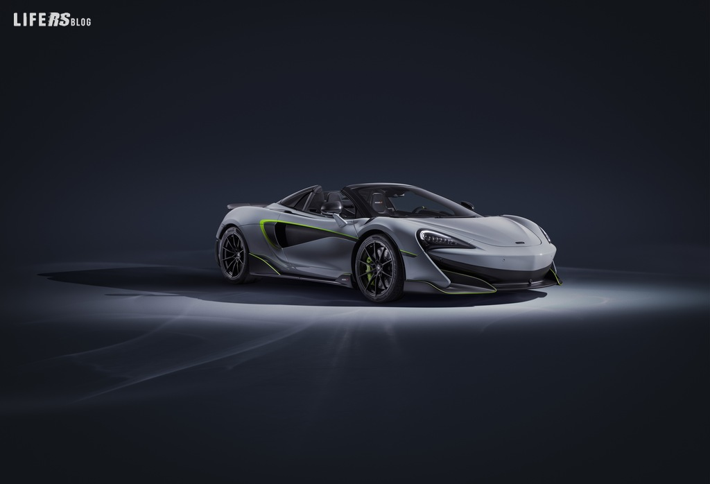 600LT Spider by McLaren: a Ginevra l'interpretazione MSO