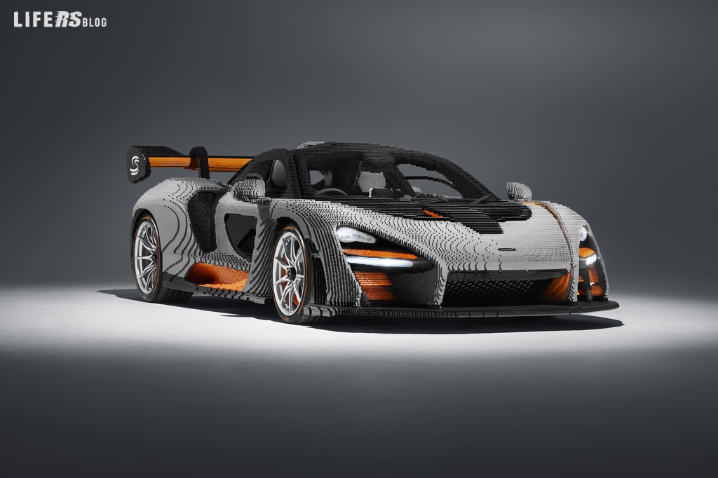 McLaren Senna LEGO® in scala 1:1