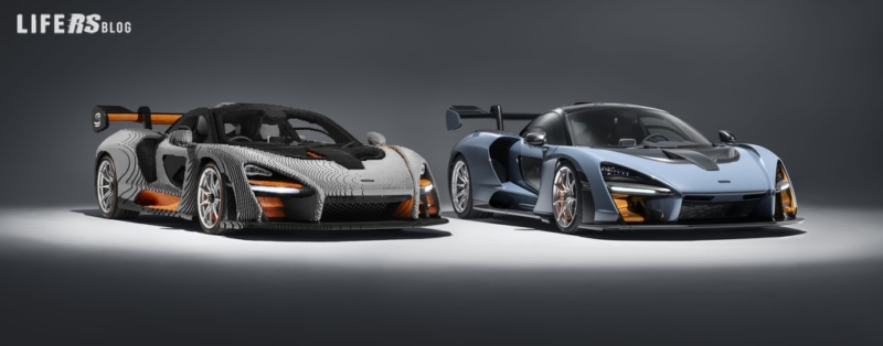 McLaren Senna LEGO® in scala 1:1