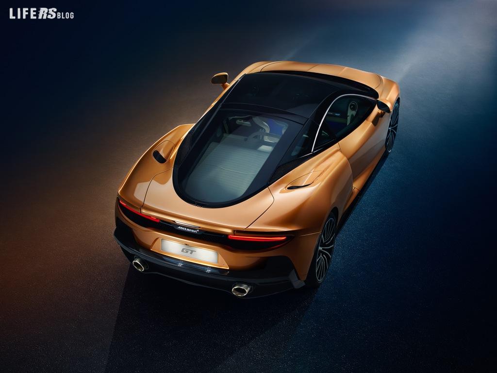 McLaren GT: superlight Grand Touring