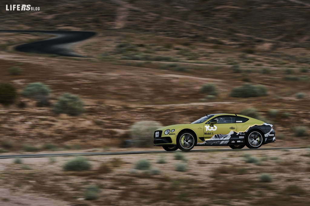Bentley è pronta a sfidare il record Pikes Peak con Continental GT