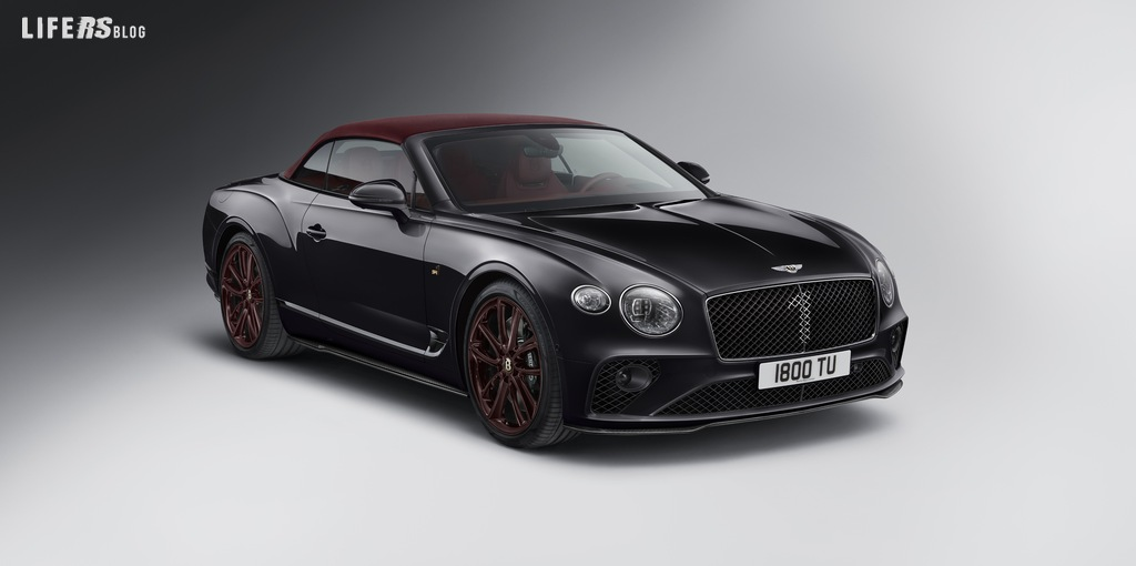 Continental GT Convertible Number 1 Edition di Mulliner