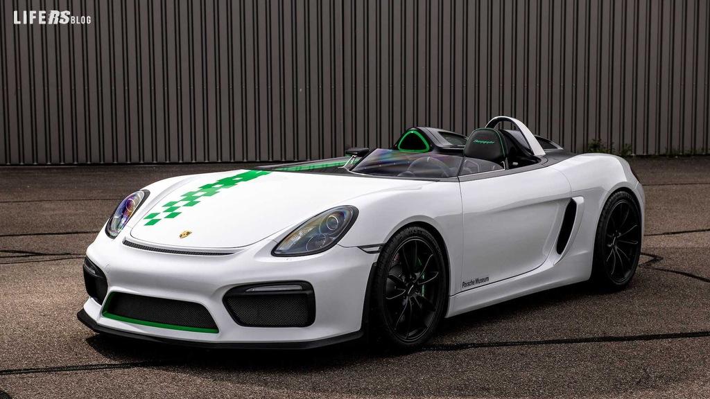 981 Bergspyder, la Porsche senza parabrezza!