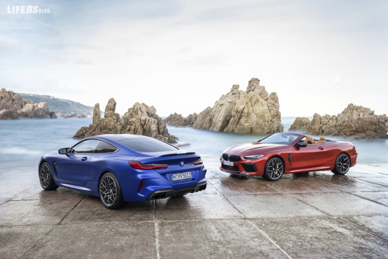 M8 Coupè e M8 Convertible BMW