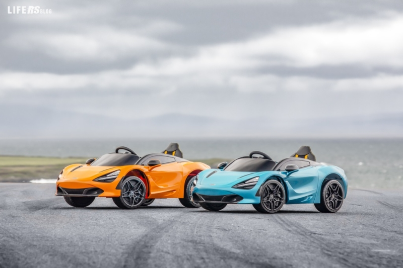Ride-On 720S: la supercar per i giovani piloti