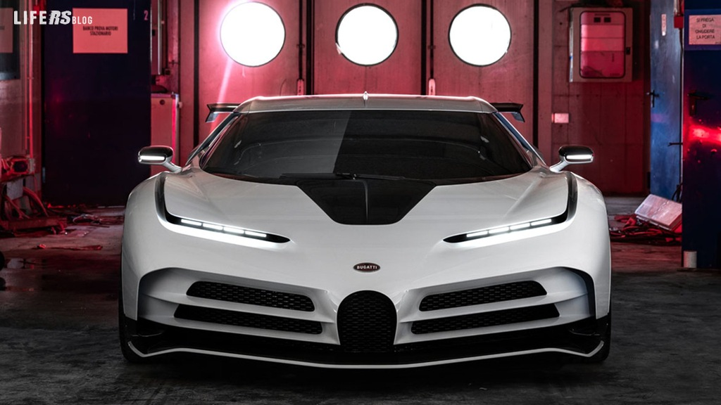 Centodieci by Bugatti: