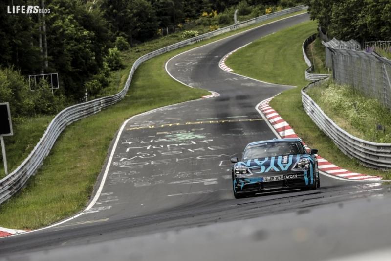 Porsche Taycan record Nürburgring