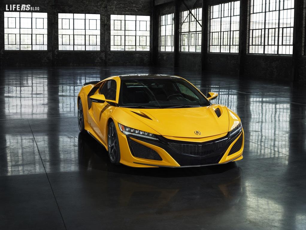 NSX Honda o Acura fa il suo debutto alla Monterey Car Week