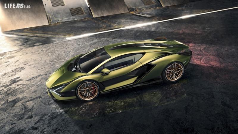 Sián: la Lamborghini supersportiva che va come un fulmine!