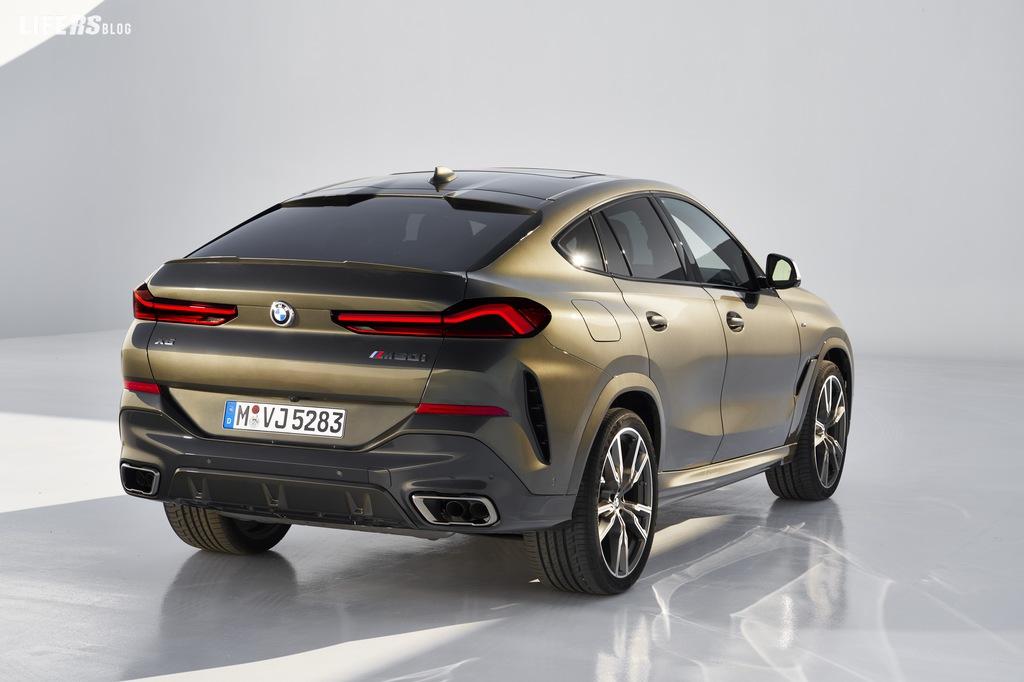 X6, Bmw svela la nuova generazione della Sport Activity Coupé