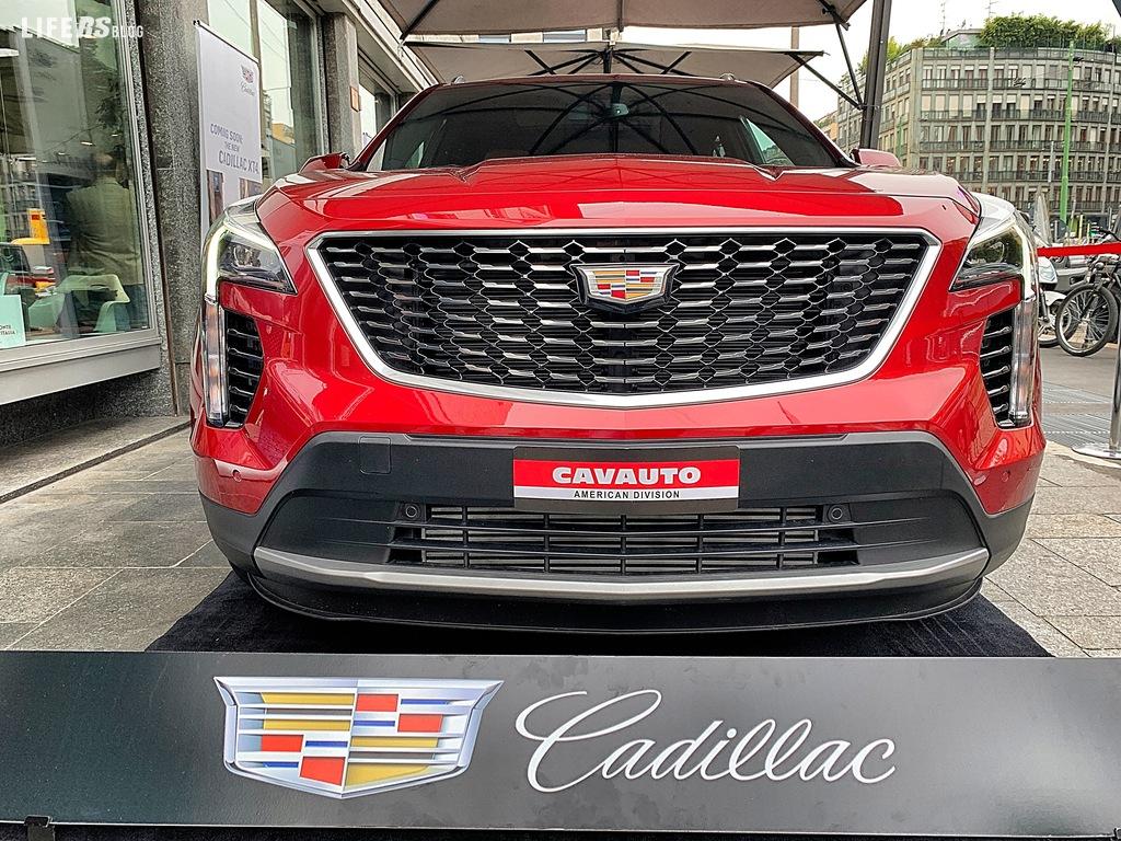 XT4 - Primo contatto : inconfondibilmente Cadillac!