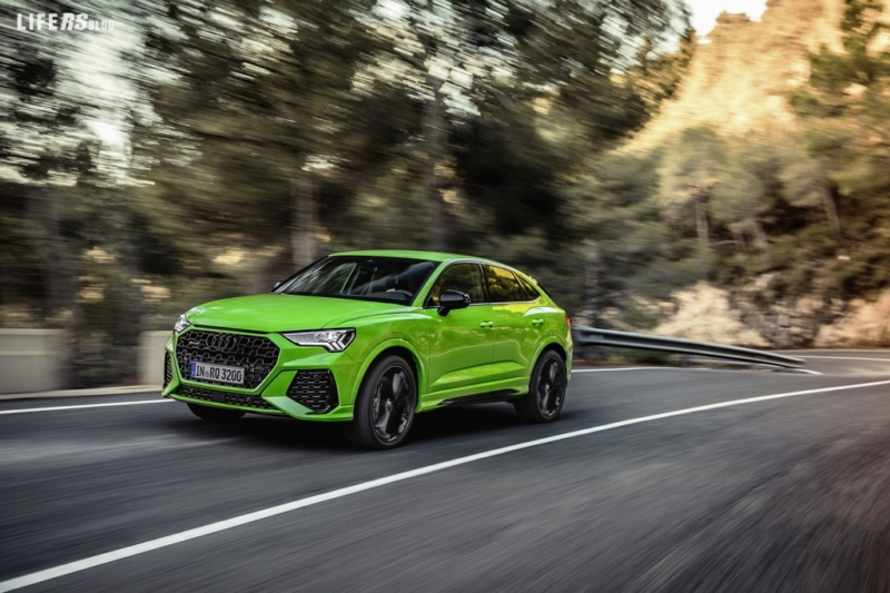 RSQ3 Sportback: arriva il SUV coupé compatto high performance