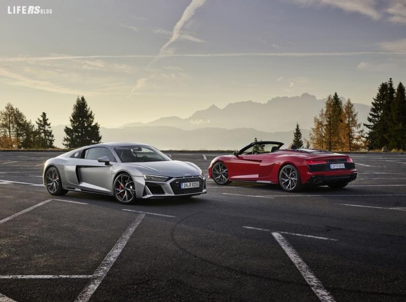 R8 Audi: per i puristi, se è posteriore è meglio!