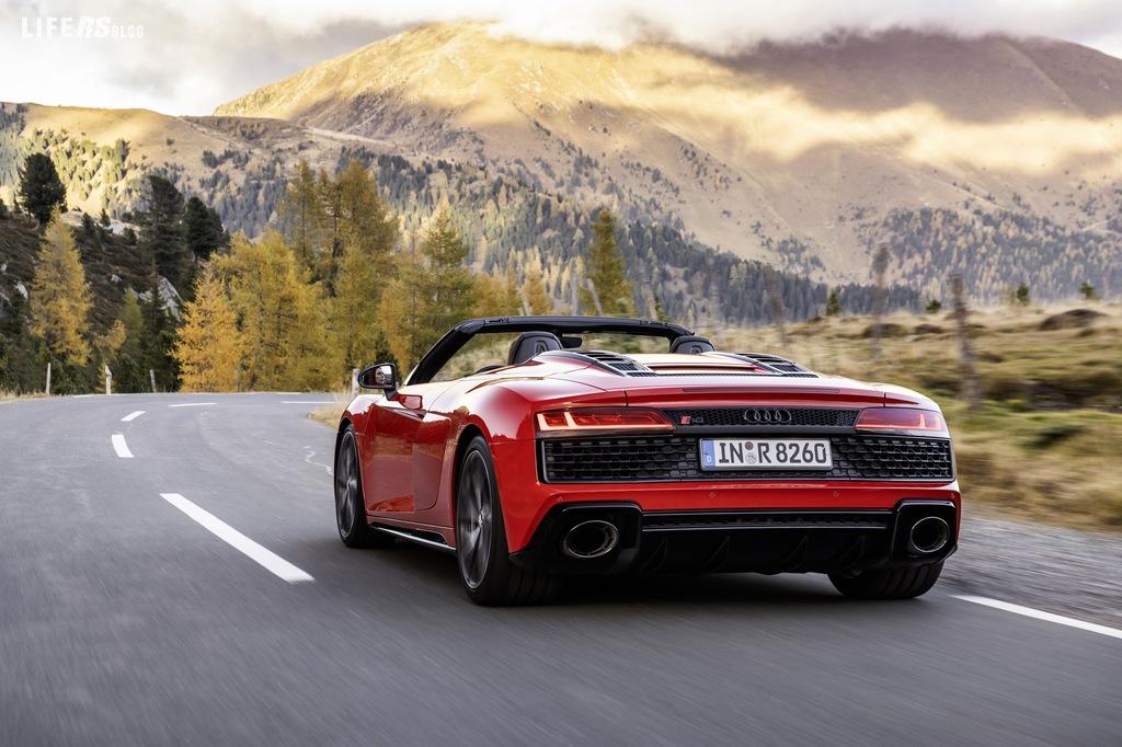 R8 V10 RWD Audi: per i puristi, se è posteriore è meglio!