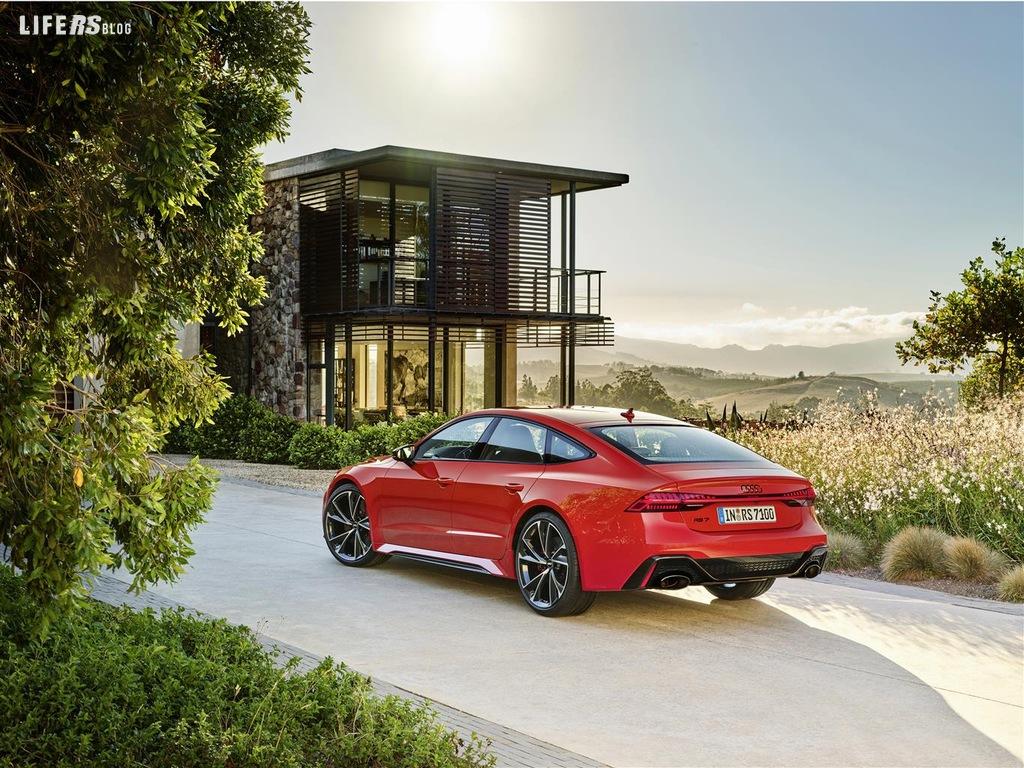 RS 7 Sportback: si aprono gli ordini della Gran Turismo Audi