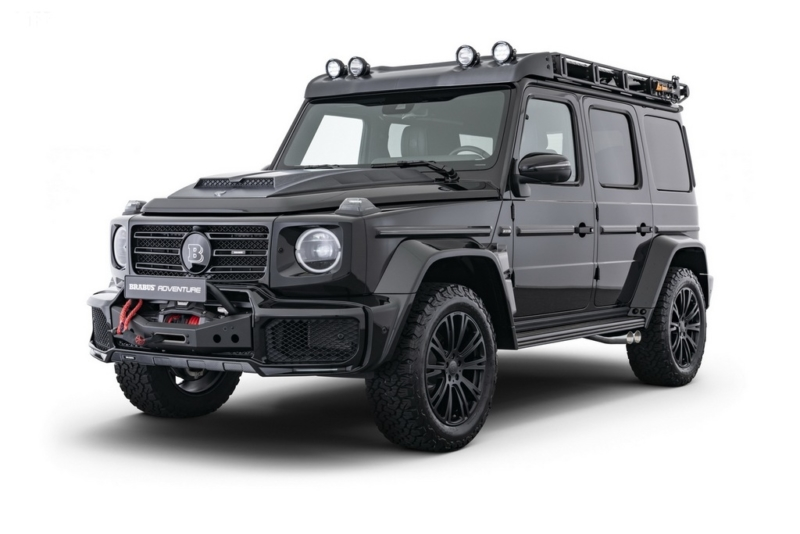 Adventure by Brabus: il pack off-road per la Mercedes G-Class