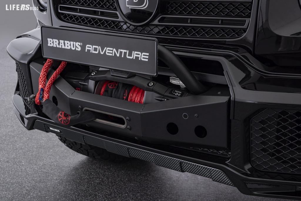 Adventure by Brabus: il pack off-road per la Mercedes G-Class