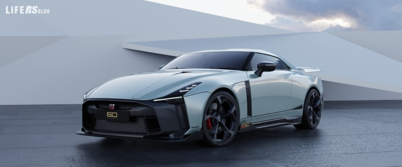 Nissan GT-R50 by Italdesign in anteprima a Ginevra