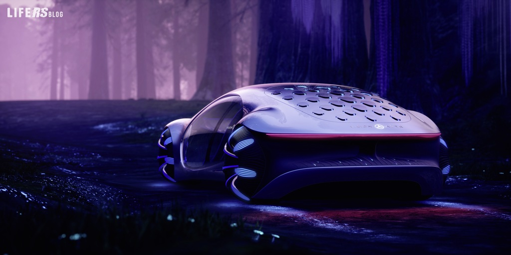 Vision AVTR, la Mercedes Benz ispirata al futuro