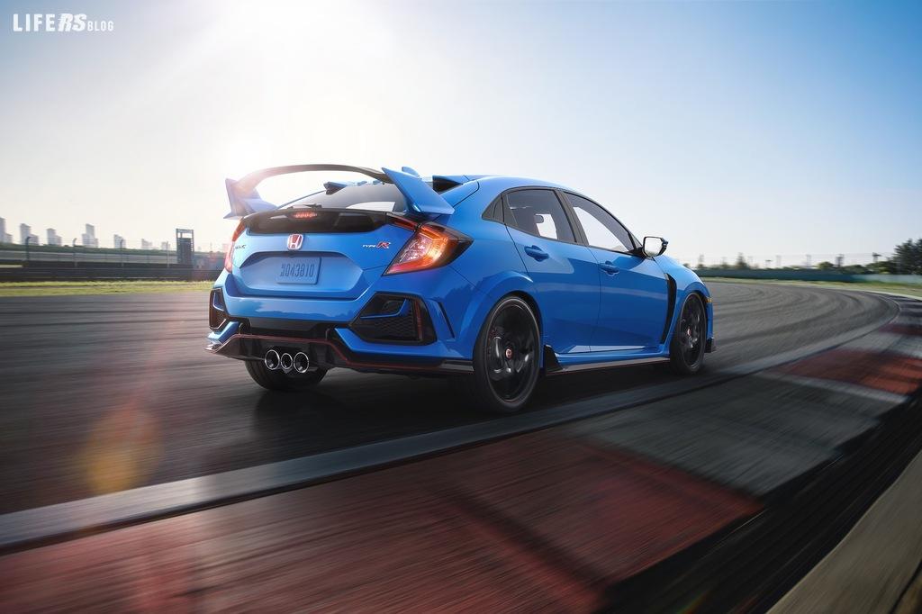 Civic Type R aggiornata 2020 rivelata da Honda