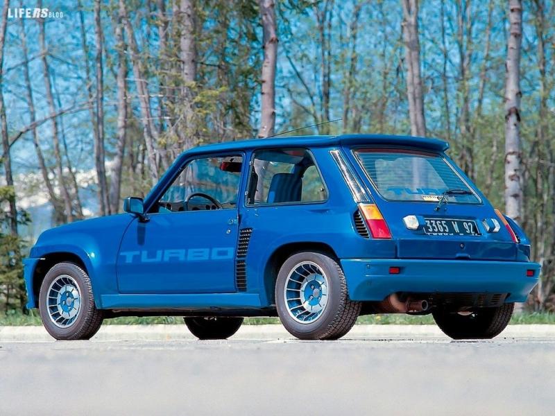 5 Turbo è tuttora una Renault adulata, ricercata, desiderata!