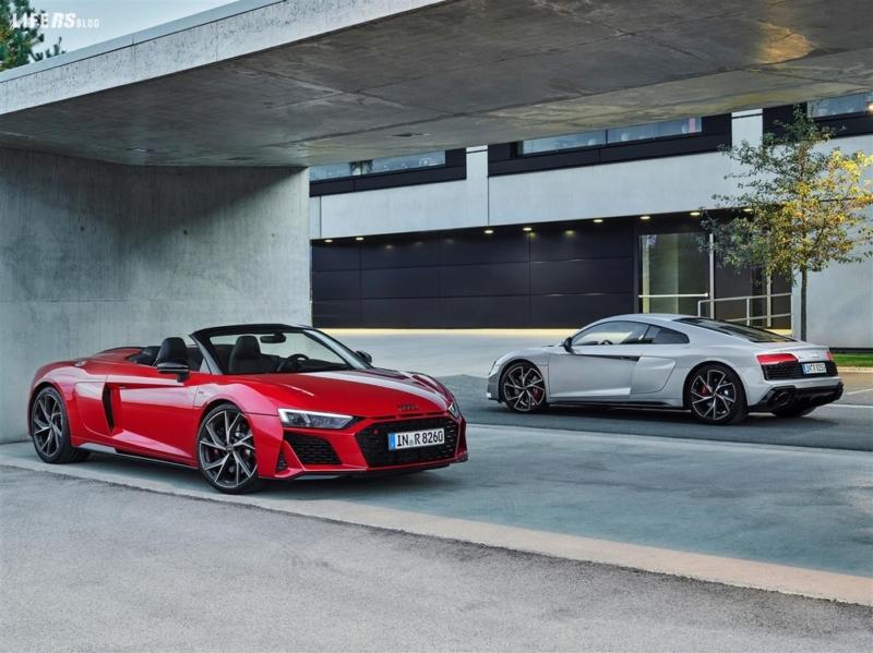 R8 V10 RW, l'Audi nata in pista, ma costruita per la strada!