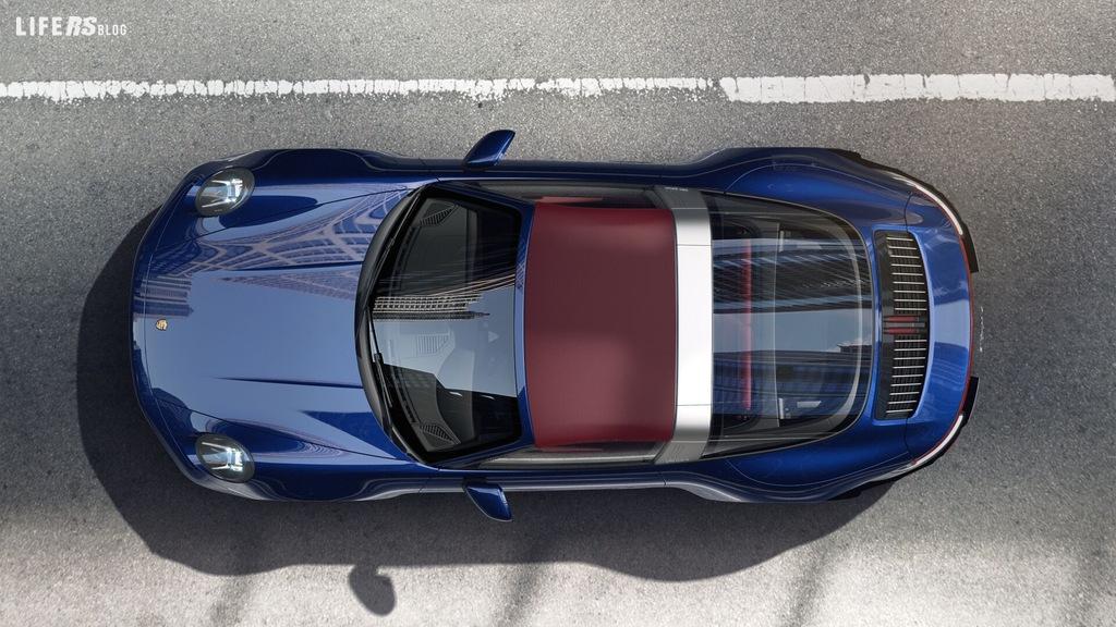 911 Targa, Porsche completa il suo trio di sportive