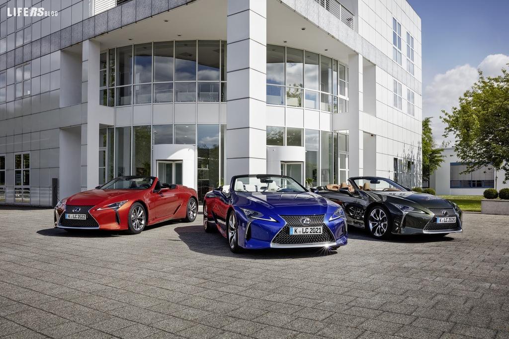 LC Cabriolet, design e attenzione Lexus maniacali