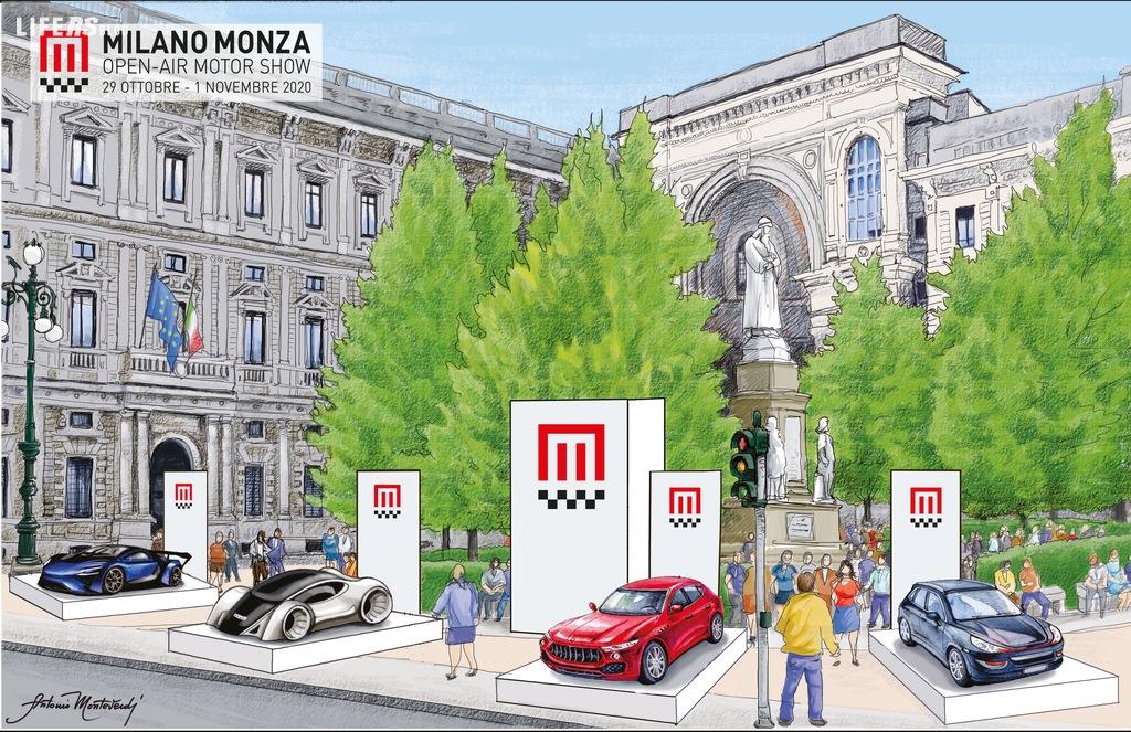 Milano Monza Open-Air Motor Show a Milano, gratuito e a cielo aperto