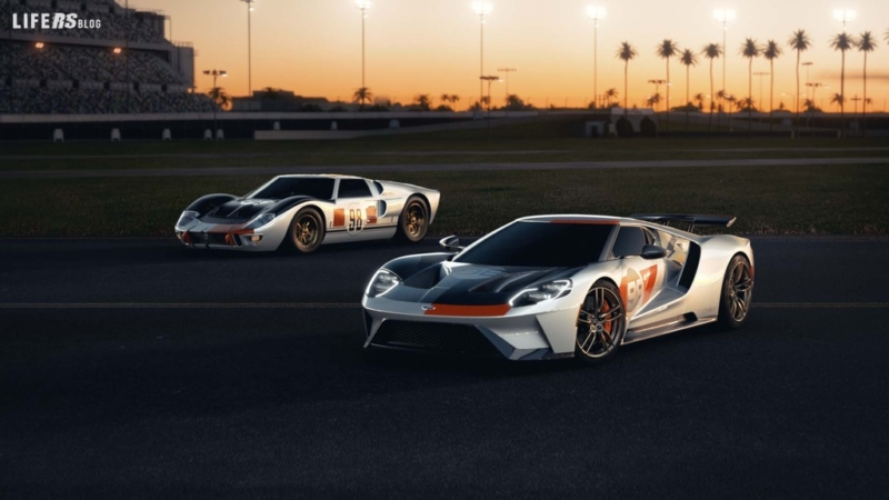 Heritage Edition, arriva la Ford GT 2021