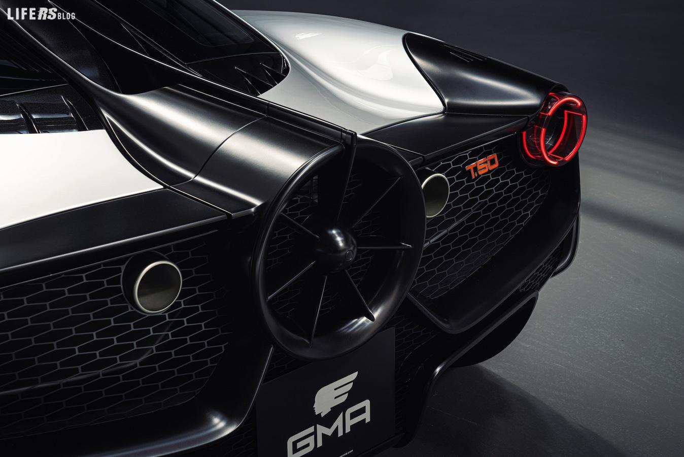 T.50 di Gordon Murray punta su leggerezza e aerodinamica