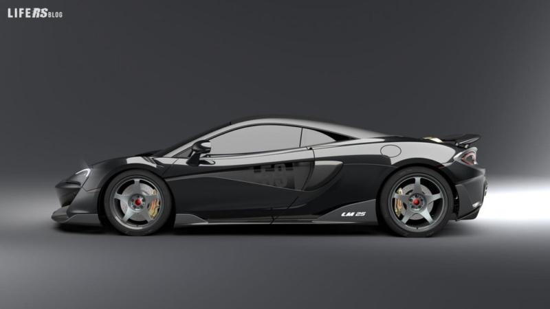 McLaren 600LT LM 25 Edition