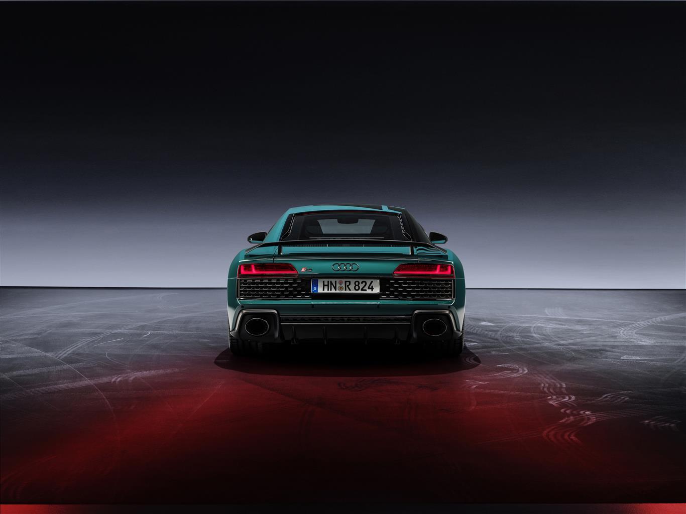 Green Hell, la supercar Audi R8 limitata a 50 esemplari