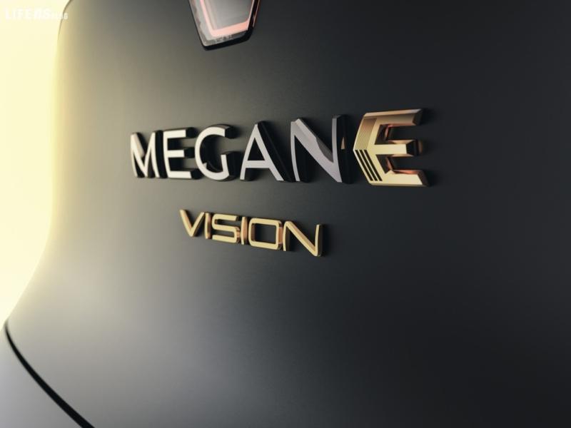 Mégane eVision, quel giallo transalpino sportivo