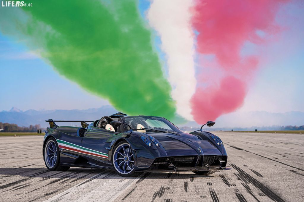 Huayra Tricolore, efficace come un fighter-jet