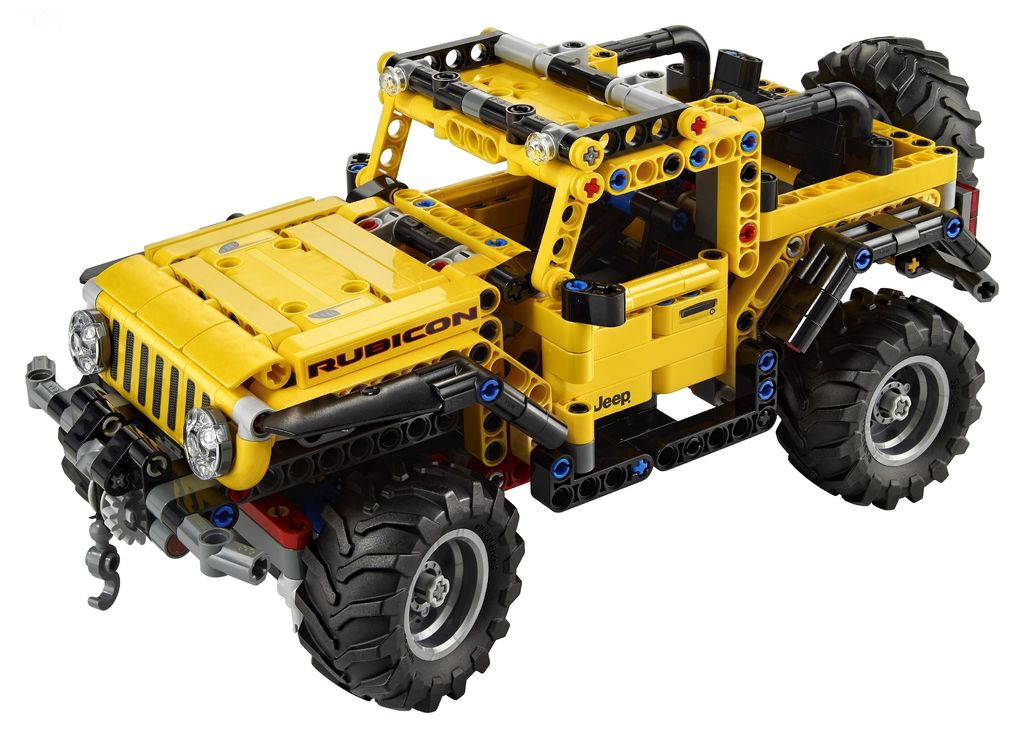 Rubicon, LEGO Technic ™ presenta l'esclusiva Jeep Wrangler