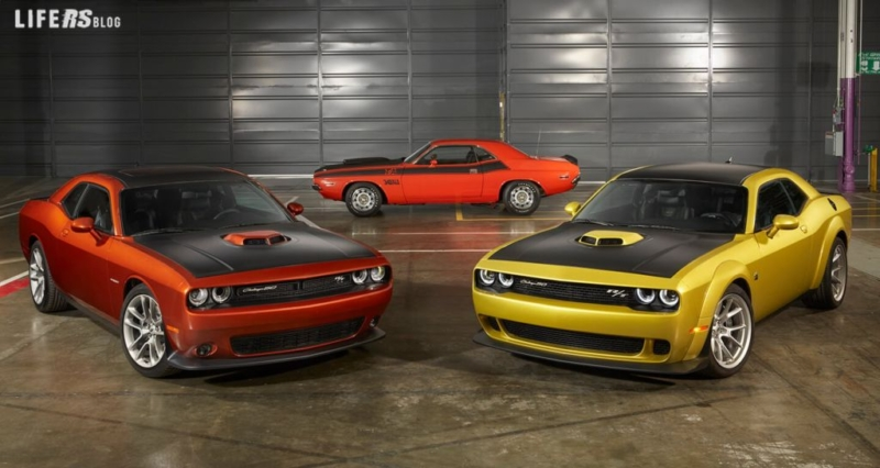 Dodge ha varato la Challenger 50th Anniversary Edition