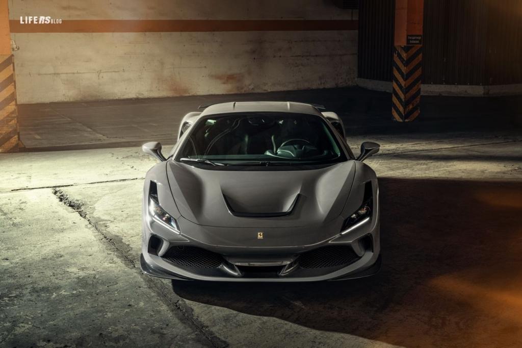 Novitec perfeziona la Ferrari F8 Tributo