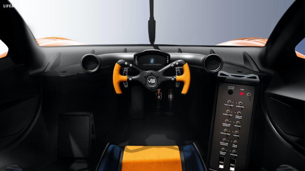 Niki Lauda, la T.50S di Gordon Murray Automotive
