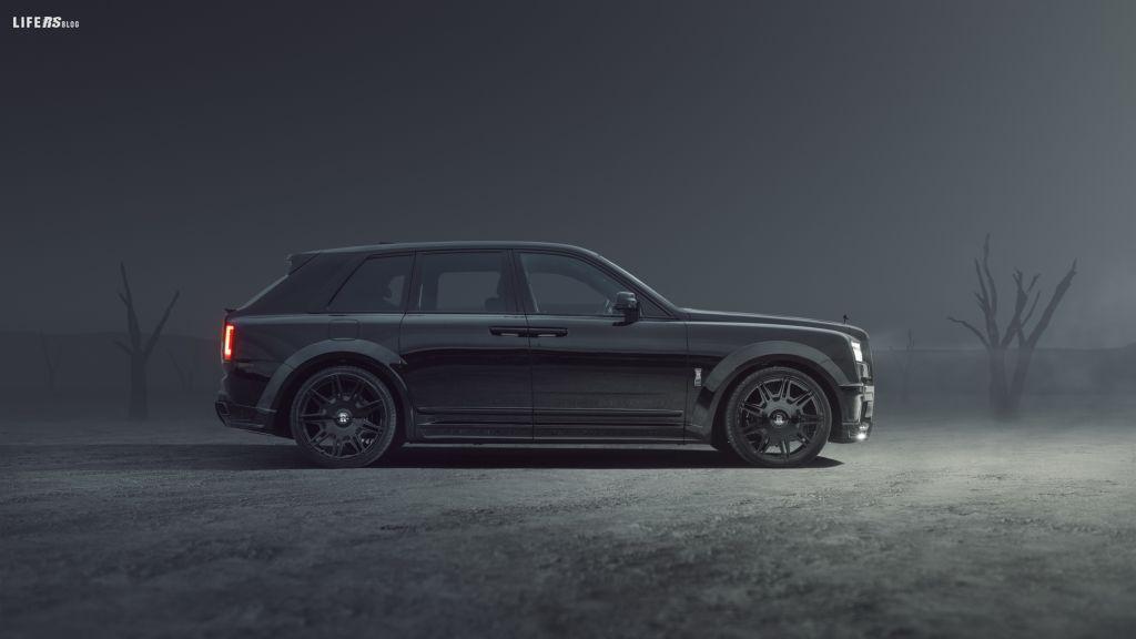 SPOFEC, la gamma per Rolls-Royce Black Badge Cullinan