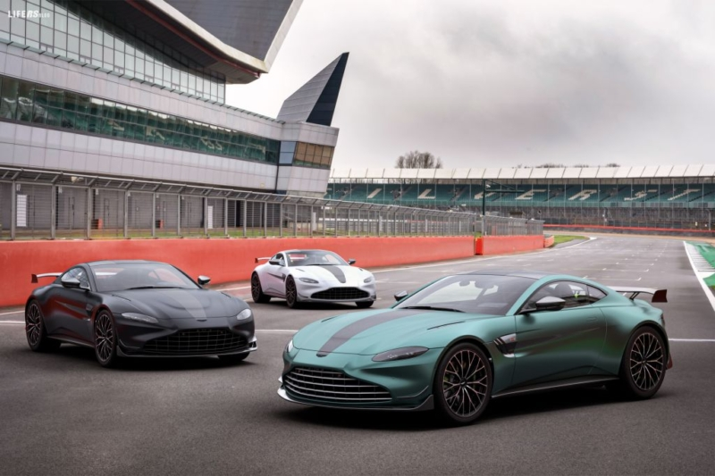 Vantage F1 Edition: Race-Track performance!