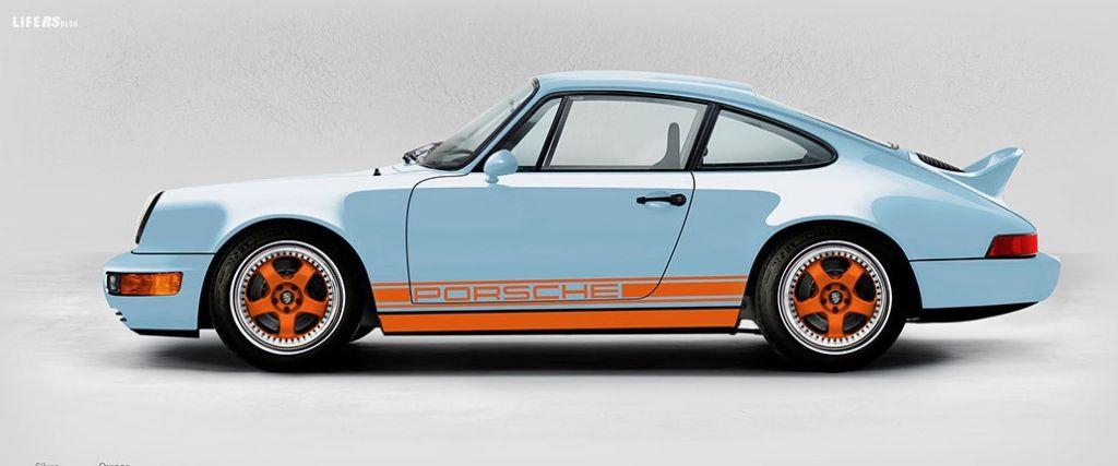 Everrati Gulf 911, Porsche classica ad emissioni zero