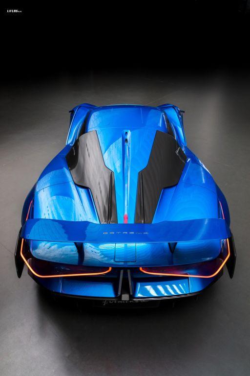 Automobili Estrema Fulminea al Salon Privé