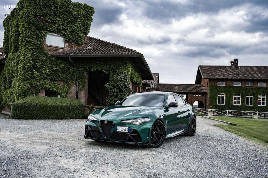 Giulia GTA, la Quadrifoglio ad alte prestazioni