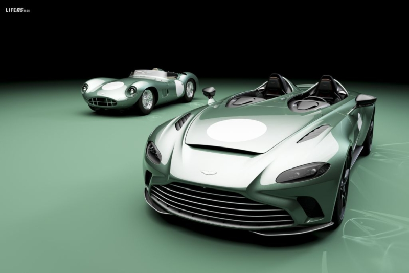V12 Speedster, solo 88 esemplari della rara Aston Martin