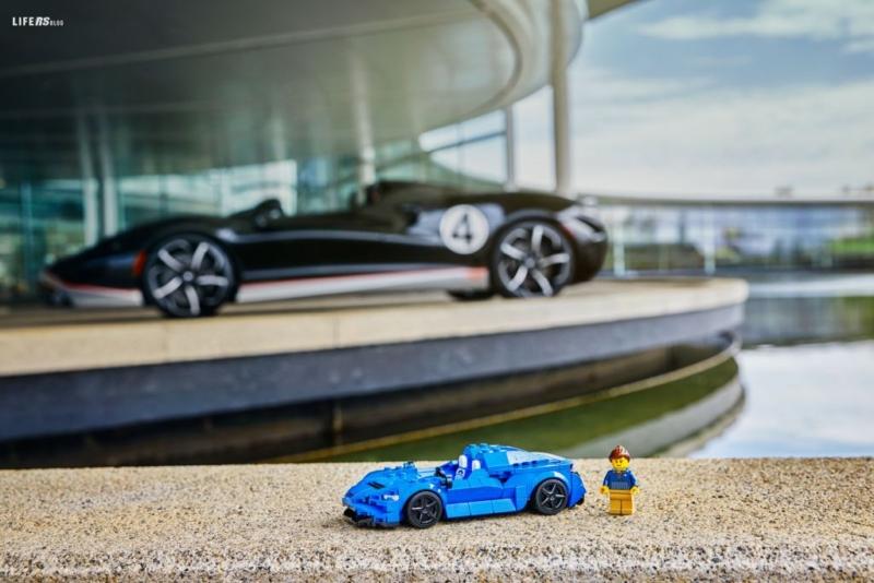 McLaren Elva LEGO® Speed Champions: velocità e innovazione