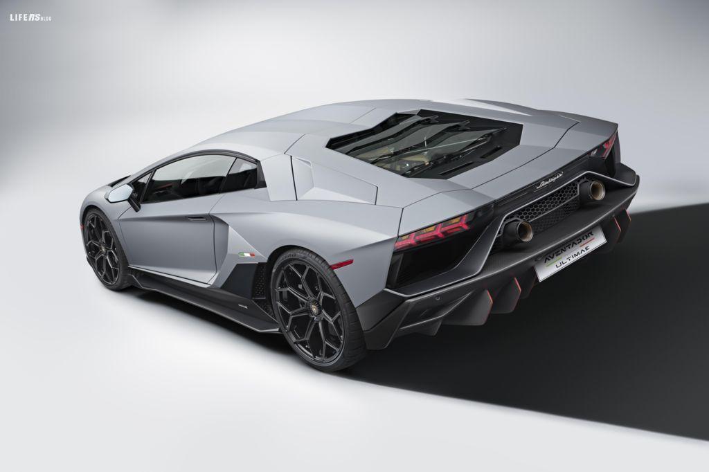 Ultimae, l'ultima Lamborghini Aventador LP 780-4