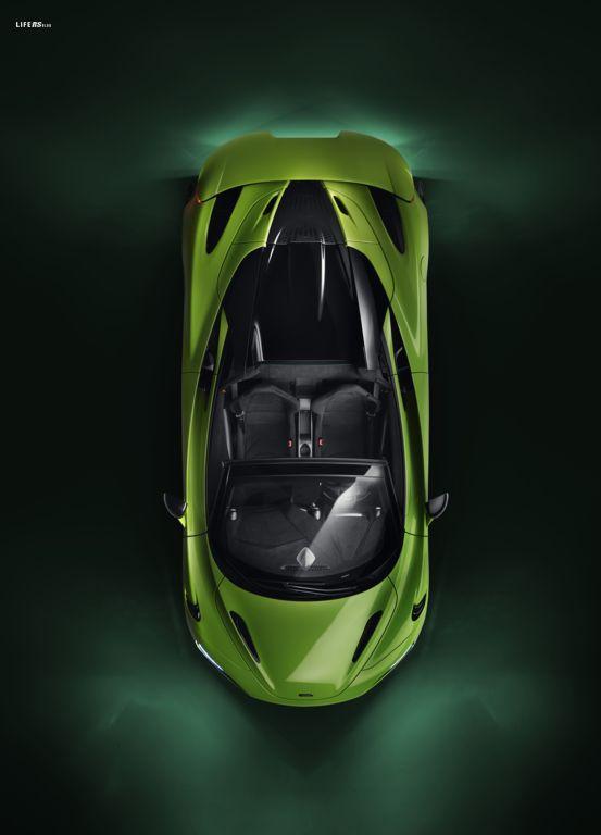 765LT Spider: la McLaren convertibile più potente di sempre