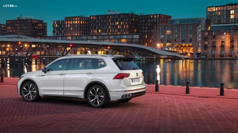 Dopo la VW Tiguan ecco il restyling della Allspace, la versione a passo lungo della suv media della casa tedesca, che può ospitare fino a 7 persone.